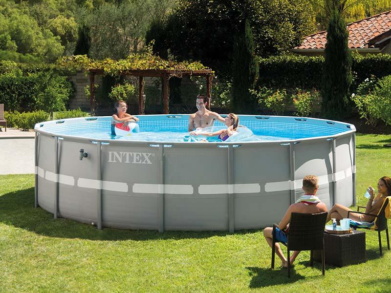 Intex Opbouwzwembaden