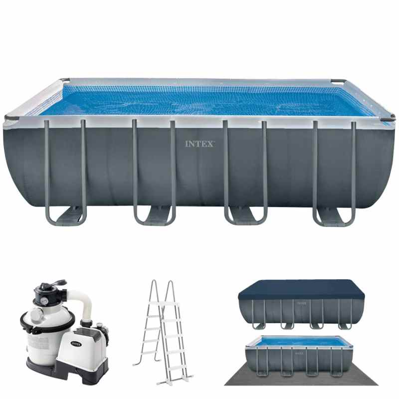 Intex Ultra Xtr Rectangular Frame Pool 549 X 274 X 132 Cm